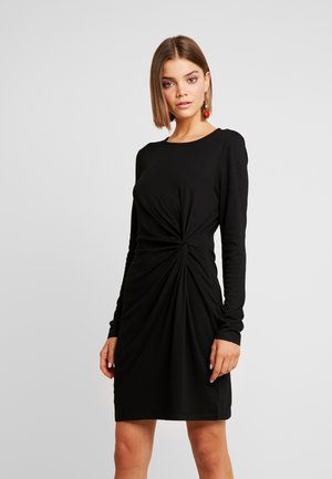 VMSMIA KNOT DRESS - Pouzdrové šaty - black