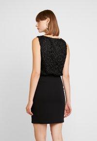 Vero Moda - VMDORIS DRESS  - Shift dress - black - 3