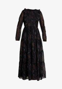 Vero Moda - VMELLIE ANCLE DRESS - Maxi šaty - black/ellie - 5
