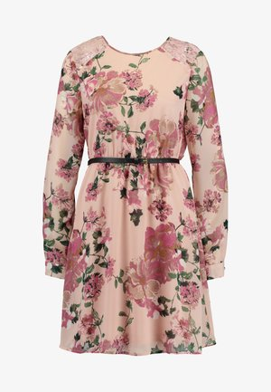 VMSUNILLE SHORT DRESS - Robe d'été - misty rose/sunilla