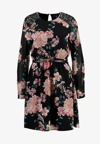 Vero Moda - VMSUNILLE SHORT DRESS - Kjole - black - 4