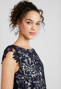 Vero Moda - VMDOLLAR CAP DRESS - Koktejlové šaty/ šaty na párty - night sky/silver scone - 4