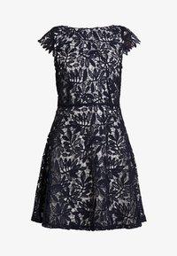 Vero Moda - VMDOLLAR CAP DRESS - Koktejlové šaty/ šaty na párty - night sky/silver scone - 5