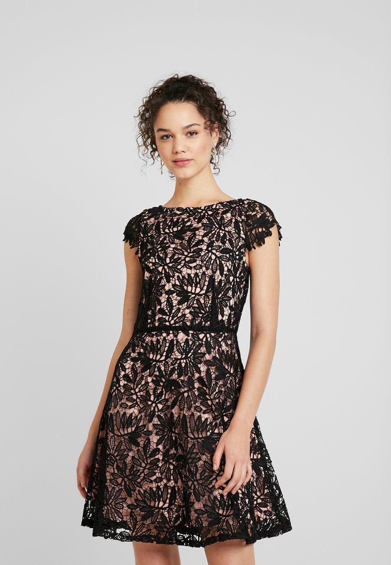 Vero Moda - VMDOLLAR CAP DRESS - Cocktail dress / Party dress - black/misty rose