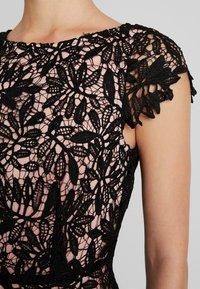 Vero Moda - VMDOLLAR CAP DRESS - Cocktailjurk - black/misty rose - 5