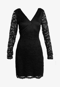 Vero Moda - VMDORA SHORT DRESS - Robe fourreau - black - 5