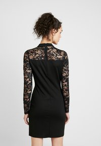 Vero Moda - VMDORA HIGH NECK DRESS - Etuikjole - black - 2