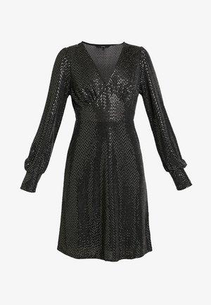 VMDARLING SHORT DRESS - Jerseykjoler - black/silver