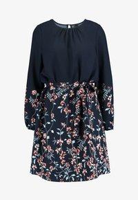 Vero Moda - VMFLORA BELT DRESS - Day dress - navy blazer - 3