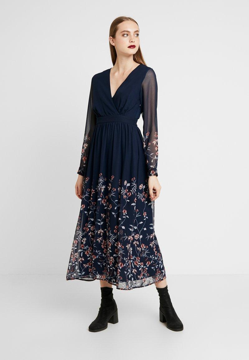Vero Moda - Maxi šaty - navy