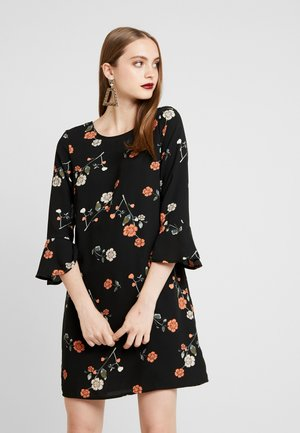 VMFALLIE BELL SHORT DRESS - Vestito estivo - black