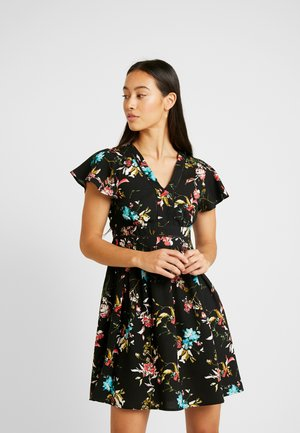 VMABBIE SHORT DRESS - Robe d'été - black/abbie