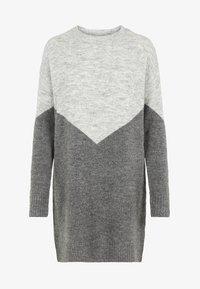 Vero Moda - Jumper dress - medium grey - 5
