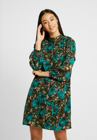 Vero Moda - VMLIANA  DRESS - Sukienka letnia - black/green - 0