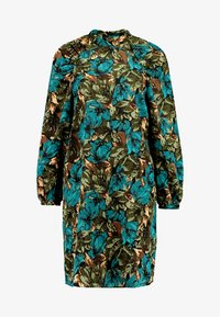 Vero Moda - VMLIANA  DRESS - Sukienka letnia - black/green - 5