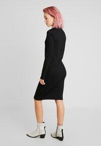 Vero Moda - VMJEANETTE DRESS - Shift dress - black - 2