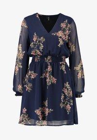 Vero Moda - VMALLIE SHORT SMOCK DRESS - Vestito estivo - navy blazer - 5