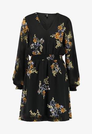 VMALLIE SHORT SMOCK DRESS - Robe d'été - black/allie
