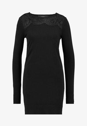 VMLACOLE LS DRESS - Robe pull - black