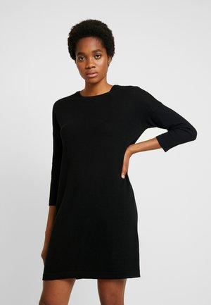 VMMINNIECARE O NECK DRESS - Stickad klänning - black