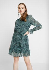 Vero Moda - VMIDA LS SHORT DRESS - Kjole - night sky - 0
