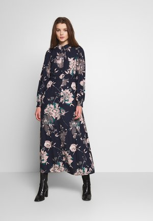 VMAYLA SHIRT ANCLE DRESS - Shirt dress - blue