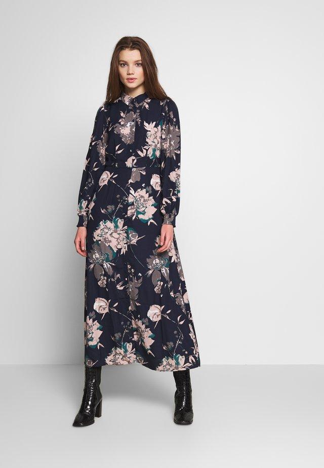 VMAYLA SHIRT ANCLE DRESS - Skjortklänning - blue