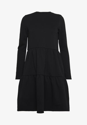 VMNATALIA FRILL DRESS - Korte jurk - black