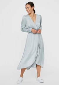 Vero Moda - WICKEL - Cocktailjurk - slate - 0