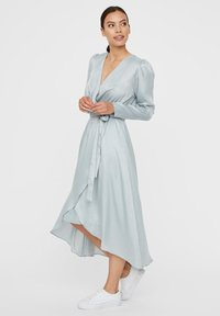 Vero Moda - WICKEL - Cocktailjurk - slate - 1