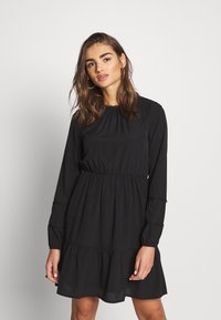 Vero Moda - VMINEZ SHORT DRESS - Kjole - black - 0