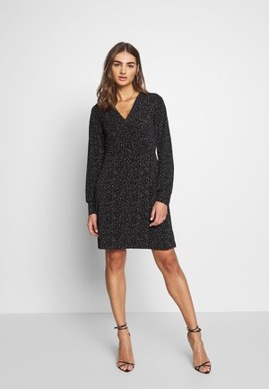 VMIVANA SHORT DRESS - Jerseykjole - black/birch