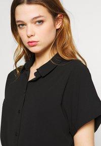 Vero Moda - Skjortekjole - black - 3