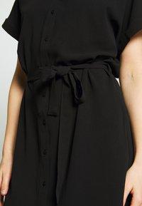 Vero Moda - Skjortekjole - black - 5