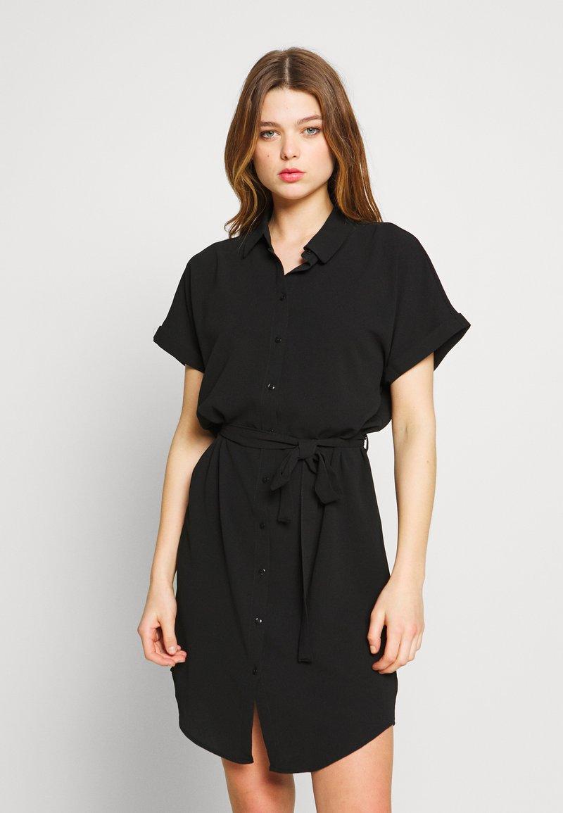 Vero Moda - Skjortekjole - black