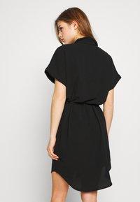 Vero Moda - Skjortekjole - black - 2