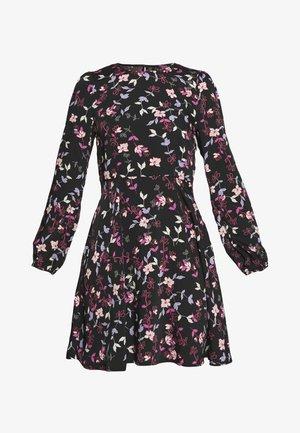 VMBILLIE SHORT DRESS - Kjole - black/billie