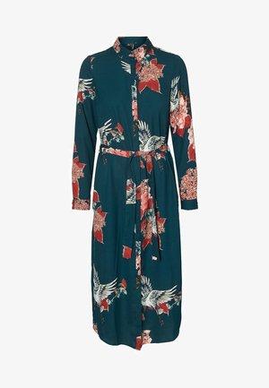Shirt dress - ponderosa pine