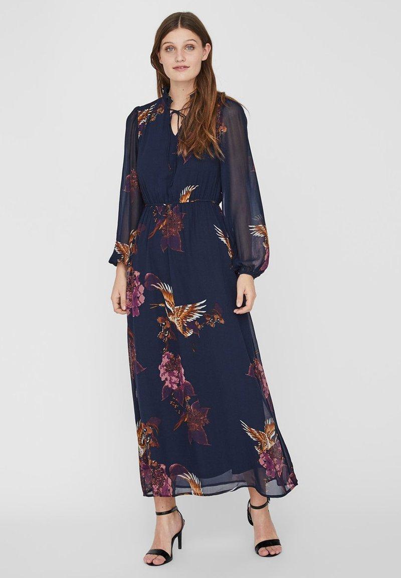 Vero Moda - Maxi dress - navy blazer