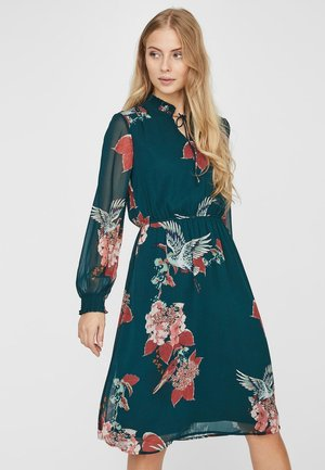 Day dress - evergreen