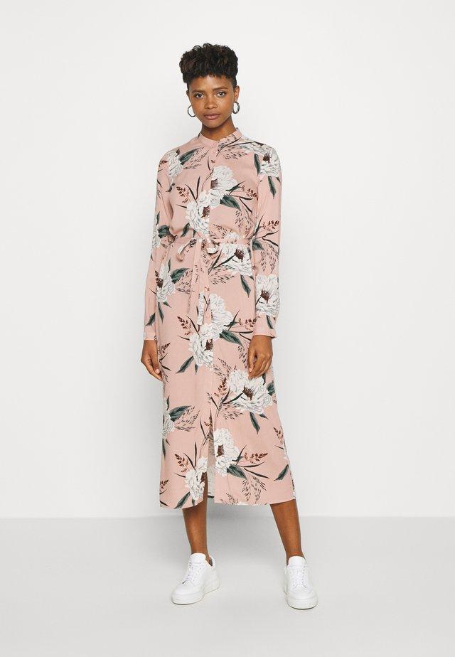VMSIMPLY EASY LONG DRESS - Skjortklänning - misty rose