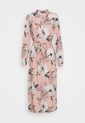 VMSIMPLY EASY LONG DRESS - Skjortekjole - misty rose
