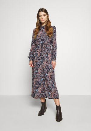 VMSIMPLY EASY LONG DRESS - Košilové šaty - night sky