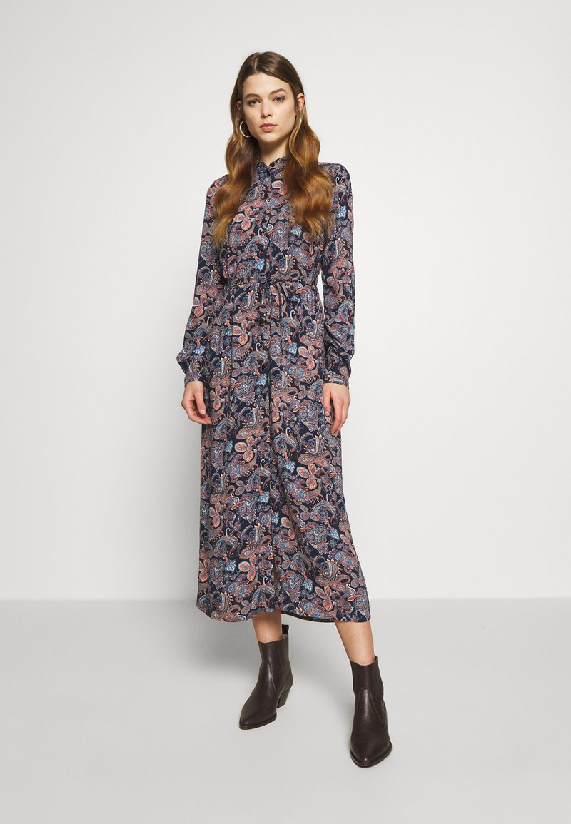 Vero Moda - VMSIMPLY EASY LONG DRESS - Shirt dress - night sky
