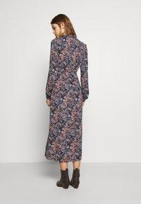 Vero Moda - VMSIMPLY EASY LONG DRESS - Shirt dress - night sky - 3
