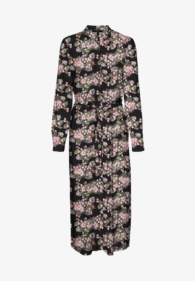 VMSIMPLY EASY LONG DRESS - Shirt dress - black 3