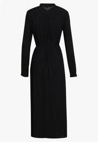 Vero Moda - VMSIMPLY EASY LONG DRESS - Skjortekjole - black - 1