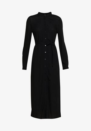 VMSIMPLY EASY LONG DRESS - Skjortekjole - black