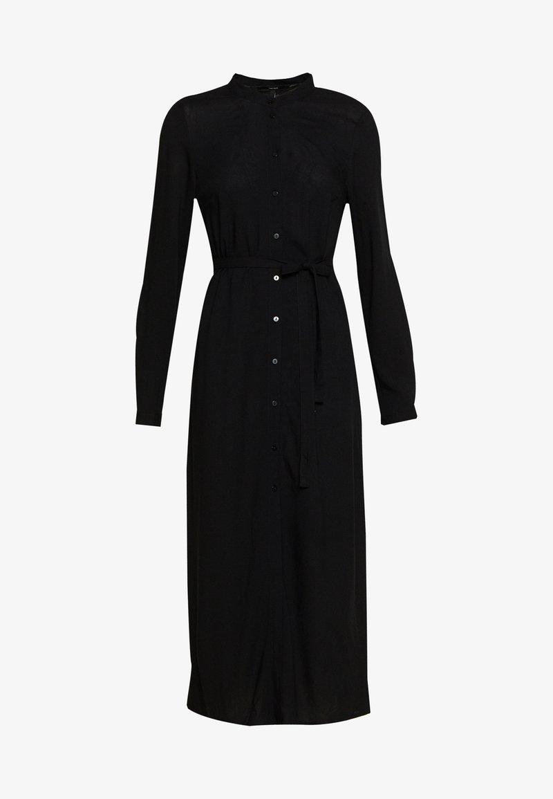 Vero Moda - VMSIMPLY EASY LONG DRESS - Skjortekjole - black