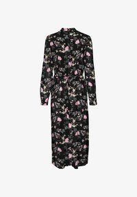 Vero Moda - VMSIMPLY EASY LONG DRESS - Shirt dress - black - 0